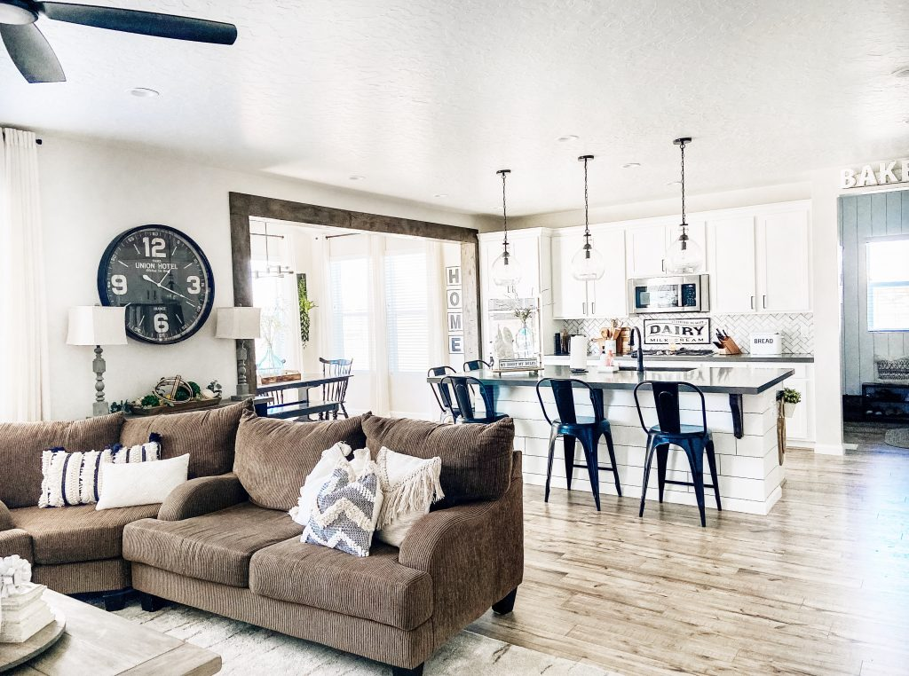 The Farmhouse Living Room One Year Later