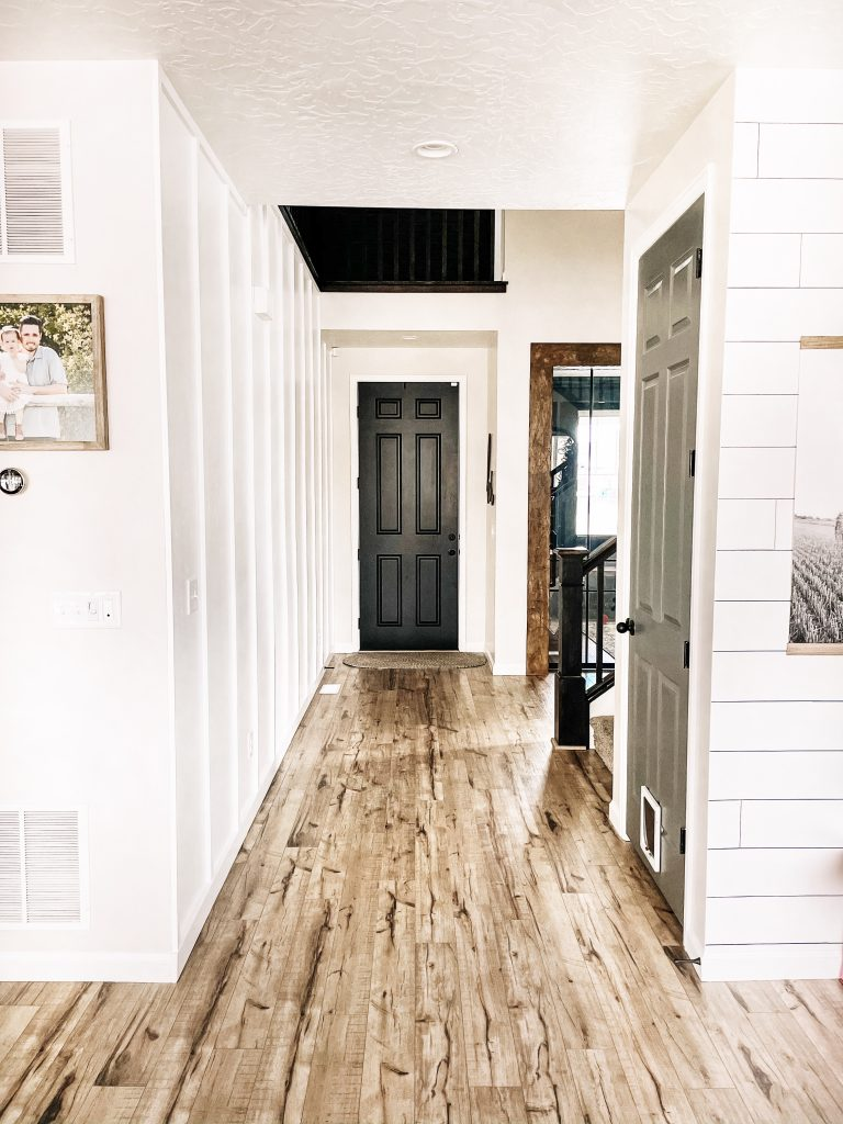 The Farmhouse Entryway One Year Later
